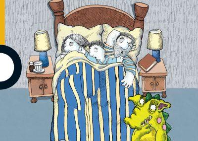 Una cama para tres